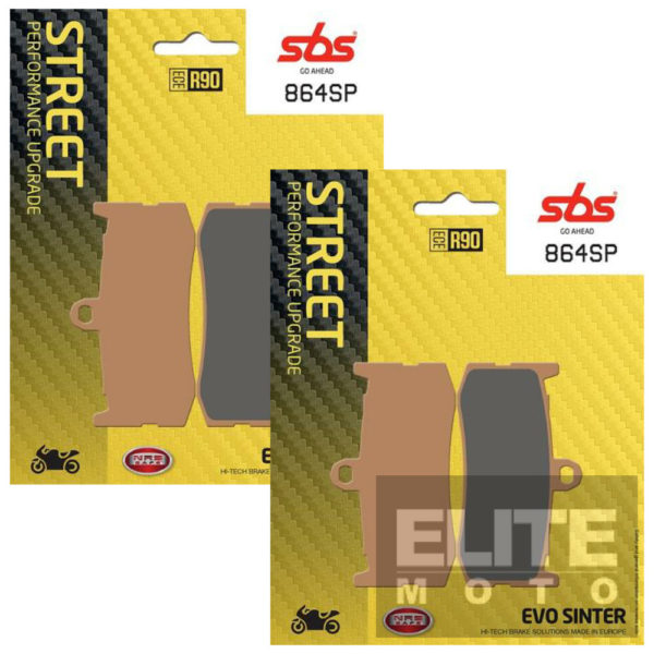 SBS 864SP Evo Sinter Front Brake Pads