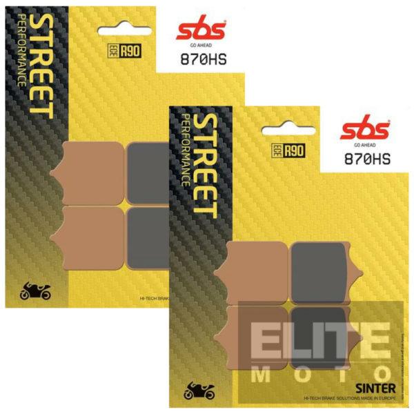 SBS 870HS Sintered Front Brake Pads