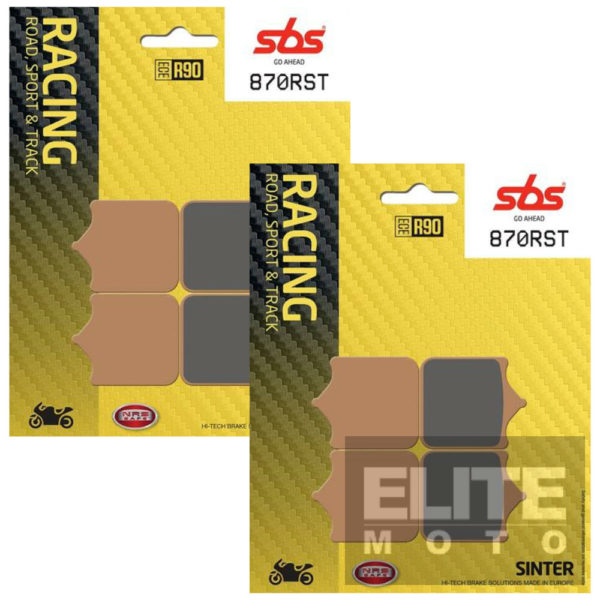 SBS 870RST Sintered Front Brake Pads