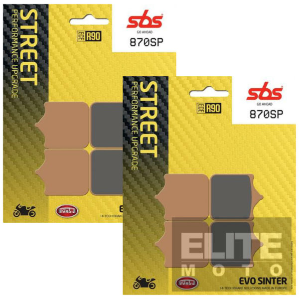 SBS 870SP Evo Sinter Front Brake Pads