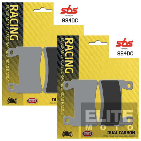SBS 894DC Dual Carbon Front Brake Pads