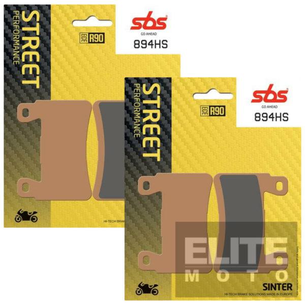 SBS 894HS Sintered Front Brake Pads