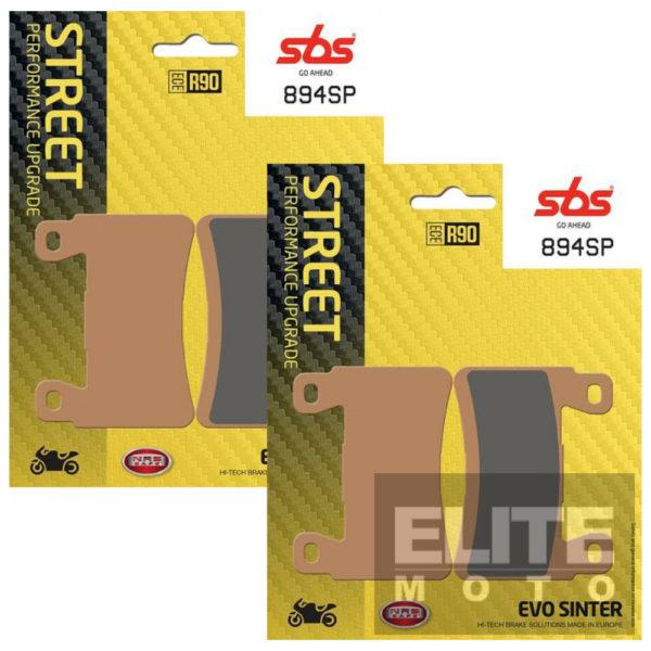 SBS 894SP Evo Sinter Front Brake Pads