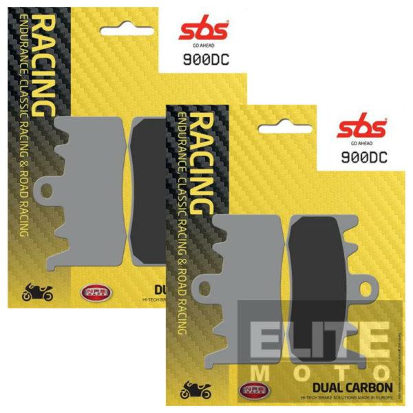 SBS 900DC Dual Carbon Front Brake Pads