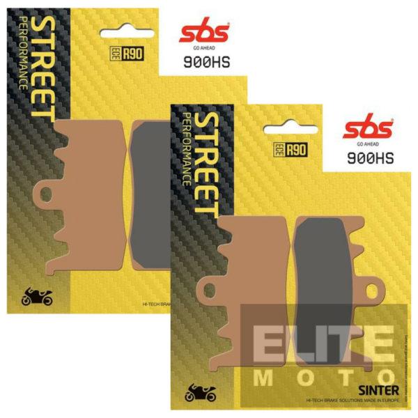 SBS 900HS Sintered Front Brake Pads