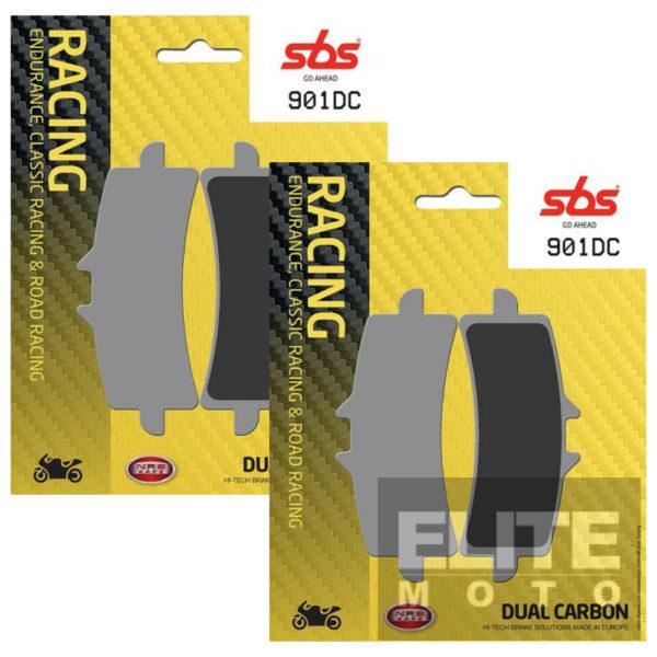 SBS 901DC Dual Carbon Front Brake Pads