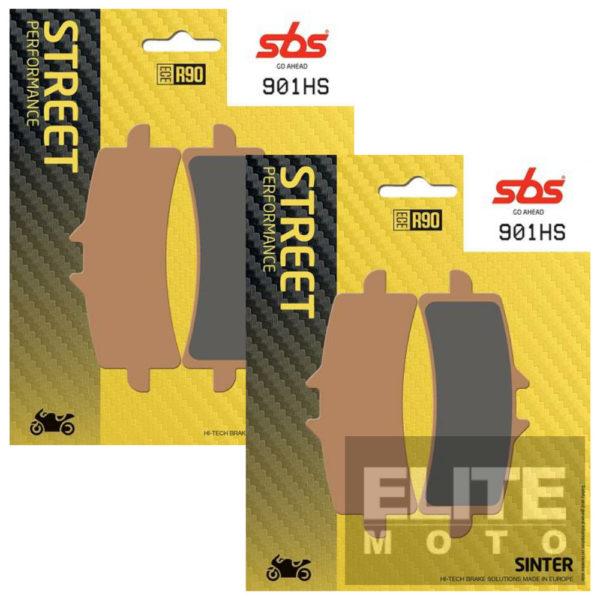 SBS 901HS Sintered Front Brake Pads