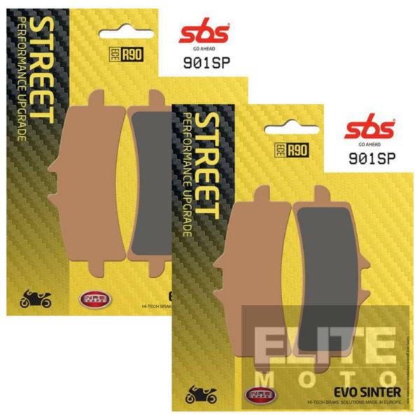 SBS 901SP Evo Sinter Front Brake Pads