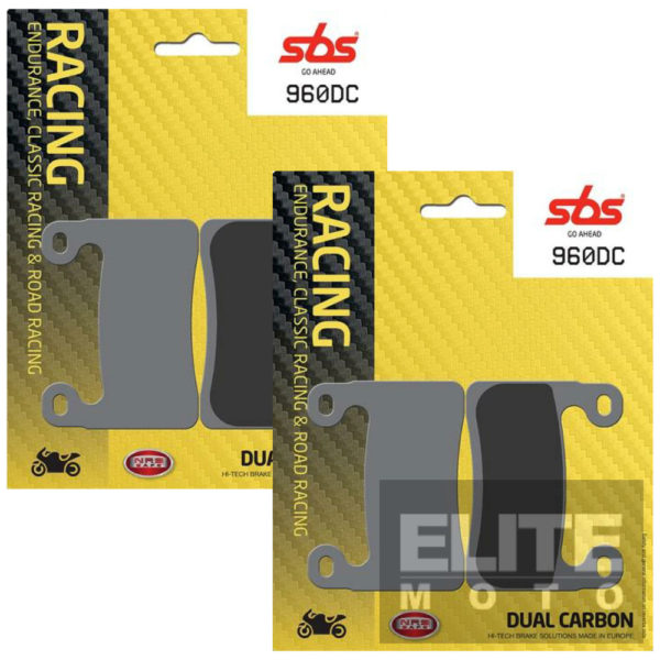 SBS 960DC Dual Carbon Front Brake Pads