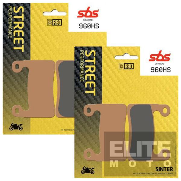 SBS 960HS Sintered Front Brake Pads