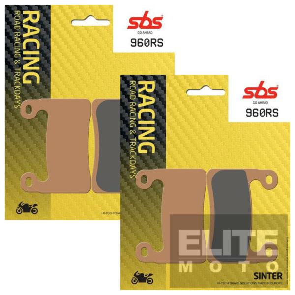 SBS 960RS Race Sinter Front Brake Pads