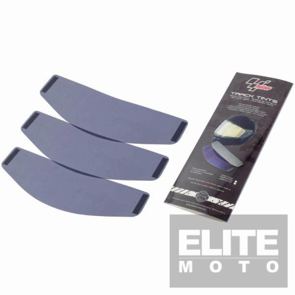 MotoGP Universal Tinted Visor Inserts Smoked Tint - 3 Pack