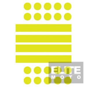 High Visability Reflective Stickers Set 24 Piece