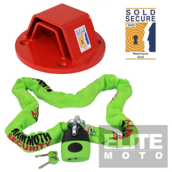 Mammoth Sold Secure Chain & Anchor Kit