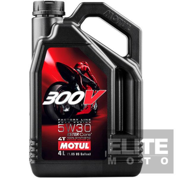 Motul 300v 5w30 4 litre