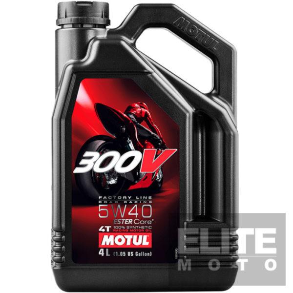 Motul 300v 5w40 4 litre