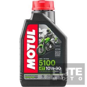Motul 5100 10w30 Semi-Synthetic Engine Oil - 1 litre