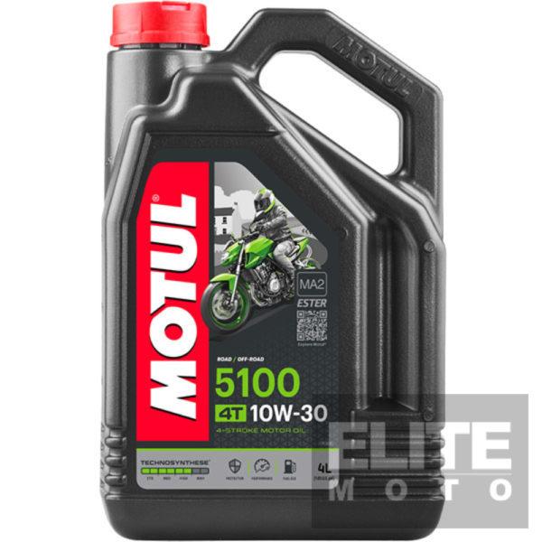 Motul 5100 10w30 Semi-Synthetic Engine Oil - 4 litre