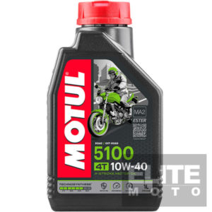Motul 5100 10w40 Semi-Synthetic Engine Oil - 1 litre