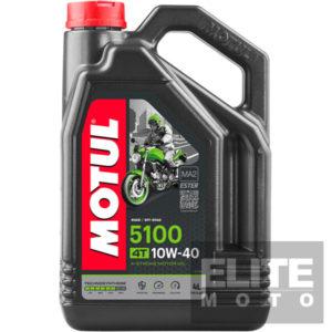 Motul 5100 10w40 Semi-Synthetic Engine Oil - 4 litre