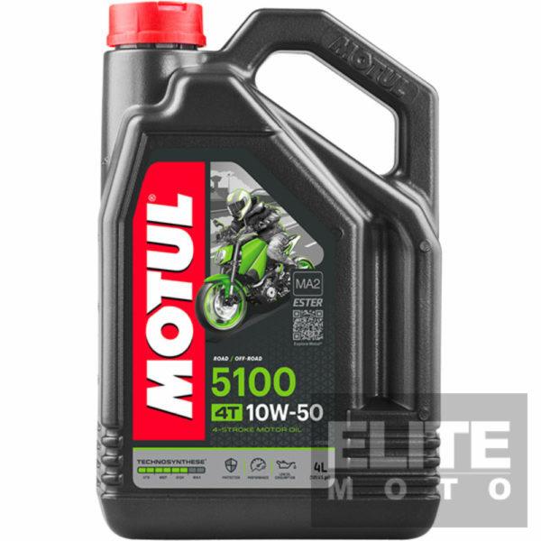 Motul 5100 10w50 Semi-Synthetic Engine Oil - 4 litre