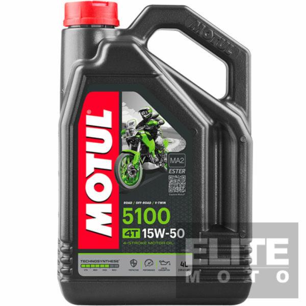 Motul 5100 15w50 Semi-Synthetic Engine Oil - 4 litre