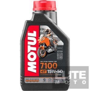 Motul 7100 15w50 Synthetic Engine Oil - 1 litre