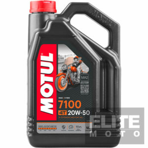 Motul 7100 20w50 Synthetic Engine Oil - 4 litre