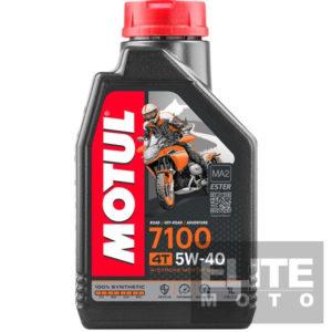 Motul 7100 5w40 Synthetic Engine Oil - 1 litre