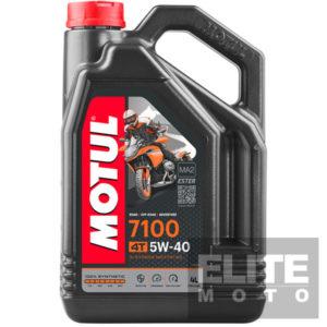 Motul 7100 5w40 Synthetic Engine Oil - 4 litre
