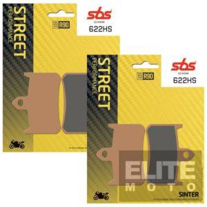 SBS 622HS Sintered Front Brake Pads