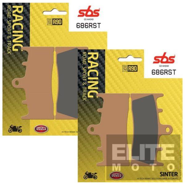 SBS 686RST Road/Sport/Track Front Brake Pads